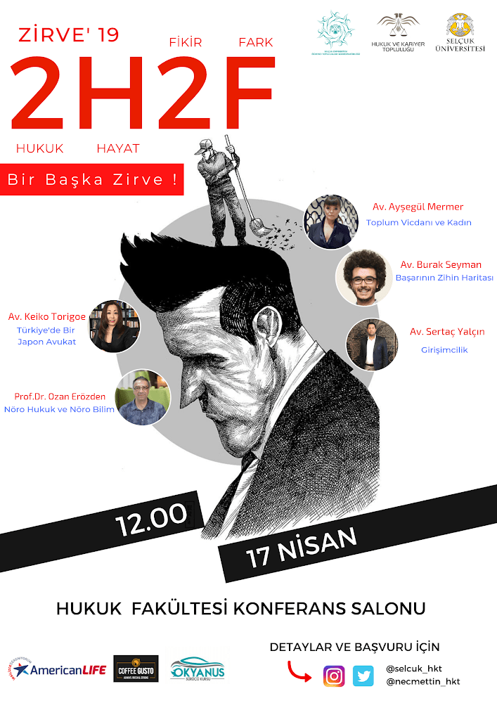Hukuk Hayat Fikir Fark Konya Selçuk Üniversitesi Burak Seyman